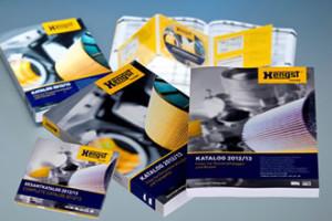 """Katalog """"Filtry do samochodów ciężarowych iautobusów"""" odHengst"""