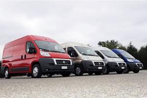 Najczęściej wybierany samochód dostawczy wPolsce w2012 r.