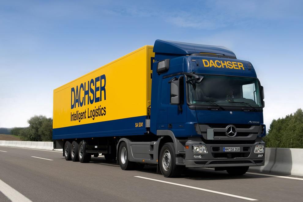 Dachser dominuje na rynku transportu drobnicy
