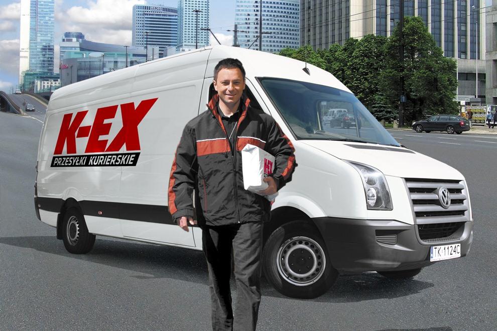 Kurierzy K-EX ze skanerami Motoroli