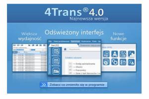 Nowa wersja programu 4Trans – 4.0