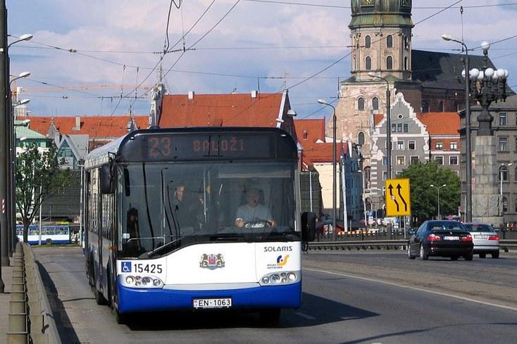 Solaris dostarczy 300 autobusów i trolejbusów do Rygi