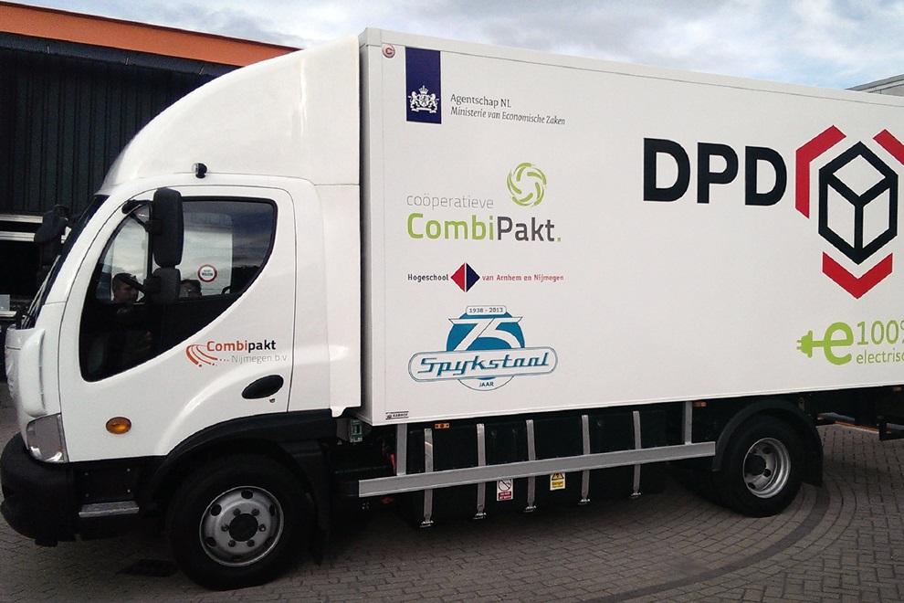 Transics pomaga efektywniej zarządzać elektrycznymi ciężarówkami