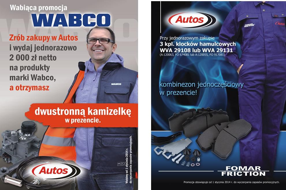 Promocje Wabco i Fomar Friction w sieci Autos
