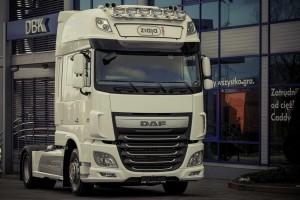 Pierwszy DAF XF Euro 6 w firmie Ziaja