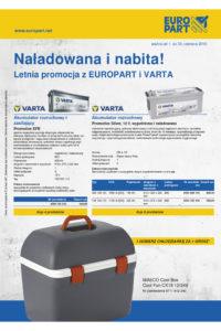 Promocje Varta i Beral w Europart