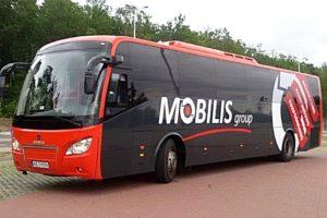 Scania dostarcza 20 autokarów dla Mobilisu