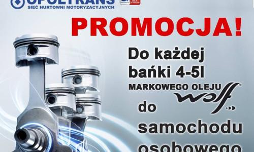 Nowa promocja oleju WOLF