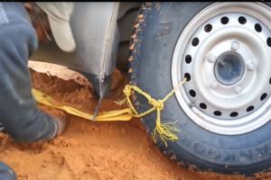 Jak odkopać samochód domowymi metodami?
