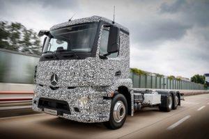 Mercedes Urban eTruck w pełni elektryczna ciężarówka