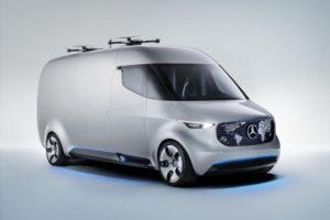 Użytkowy samochód przyszłości od Mercedesa