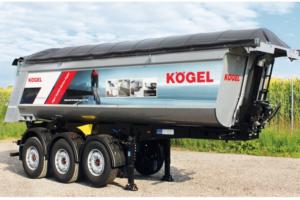 Na IAA 2016 Kögel prezentuje wywrotkę wannową do transportu asfaltu