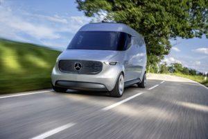 Mercedes-Benz Vans prezentuje użytkowy samochód przyszłości