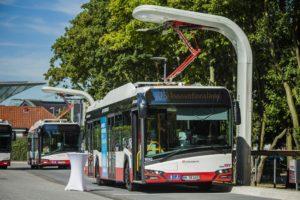 Nowe Urbino 12 electric w Hamburgu