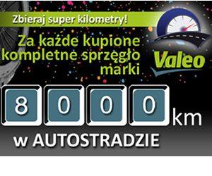 8000 km w Autostradzie za zakupy sprzęgieł Valeo