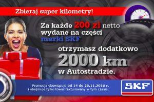 Promocja SKF w ramach Autostrady sieci Autos