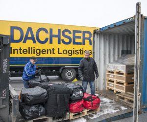 Dachser z pilną antarktyczną przesyłką