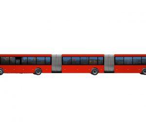 Największy autobus na świecie ma 30 metrów