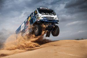 Continental z KAMAZ-Master na Rajdzie Dakar