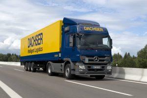 Dachser przyśpiesza połączenie do Czech