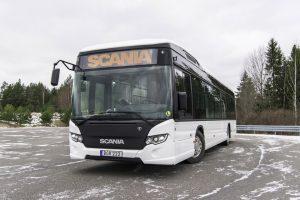 Elektryczne autobusy Scania testowane w ruchu miejskim