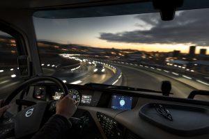 Zintegrowany system informacji i rozrywki w pojazdach Volvo Trucks