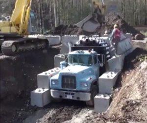 Jak zbudować tunel z pomocą ciężarówki?