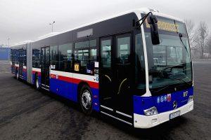 Klimatyzatory Konvekta na autobusach Mercedesa