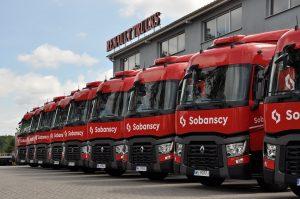 Renault Trucks we flocie UT Sobańscy
