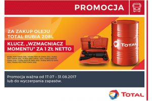 Promocja na oleje Total Rubia