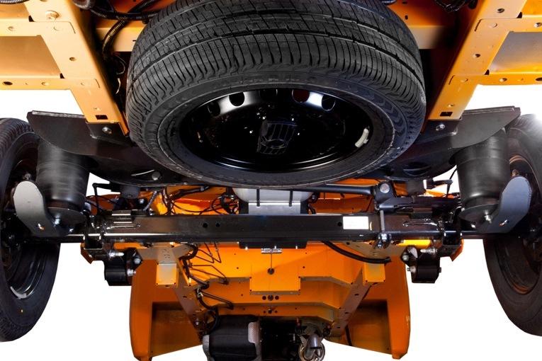W Ultra W pełni pneumatycznie zawieszenie dedykowane do Renault Master NB94