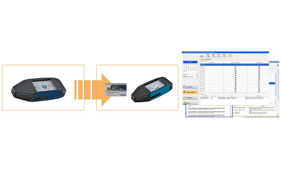 DLKPro Download Key Advanced Digital Tachograph
