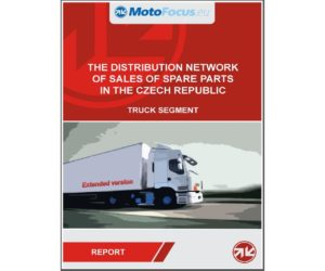 Raport: The distribution network of sales of spare parts Czech Republic - truck segment