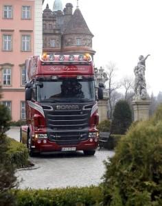 Pierwsza Scania R730 w Polsce