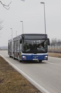 Autobus przyszłości MAN w Budapeszcie