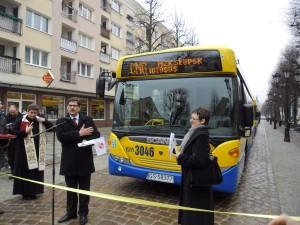 Nowe autobusy Scania w słupskim MZK