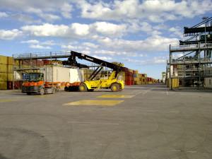 Opony przemysłowe Simex w portach morskich