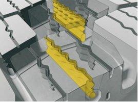 Technologia trójwymiarowych lameli w oponach Michelin