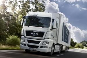 MAN TGX najbardziej ekologiczną ciężarówką
