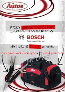 Promocja Bosch w Autos