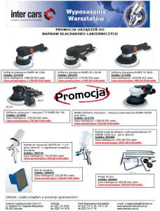 Promocja urządzeń do napraw blacharsko-lakierniczych w Inter Cars SA