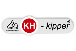 Naczepa KH-Kipper z uniwersalnym najazdem
