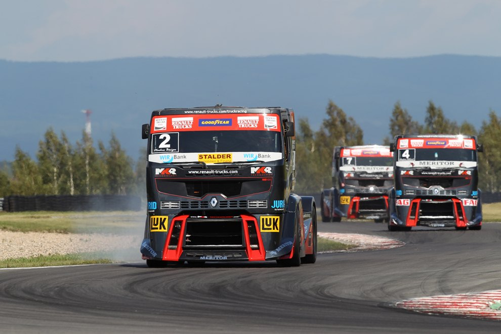 Udany weekend dla ekipy Renault Trucks-MKR Technology