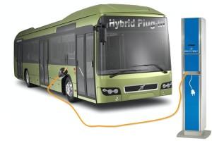 Volvo pracuje nad autobusem plug-in