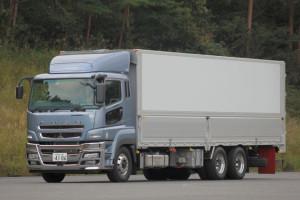 Hybrydowa ciężarówka Fuso