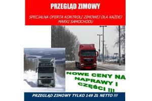 Przegląd ciężarówki za 149 zł