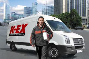 Regionalna sortownia paczek K-EX w Sosnowcu