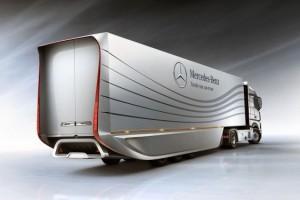 Prototypowa naczepa Mercedes-Benz: aerodynamiczna rewolucja