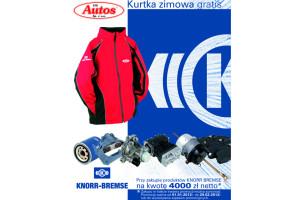 Kurtka za zakupy produktów Knorr-Bremse w Autos