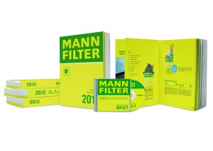 Katalog MANN-FILTER na rok 2012